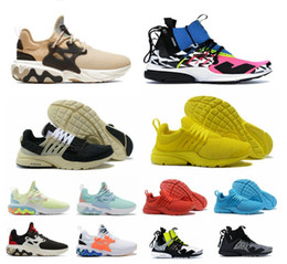 Meia sapatilhas on-line-2019 react presto 2.0 mid acronym X racer homens mulheres tênis de corrida Psychedelic Lava sneakers Witness Protection trainers Dharma com box shoe