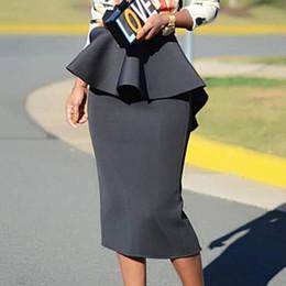 ca1c83849 Distribuidores de descuento Elegantes Faldas De Oficina   Elegantes ...