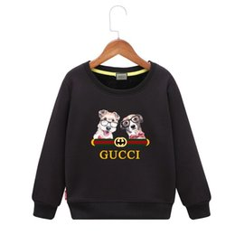 5d08cd91faa Kids dog hoodie Cartoon Pattern Comfortable Children Sweater colors boys  baby coats jackets clothing