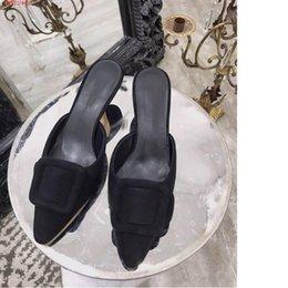 2019 primavera e l'estate nuove zt10 importate scarpe da donna in vera pelle alla moda con le scarpe a punta tacco medio Lady's tacco da