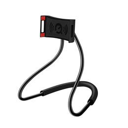 Deutschland Lazy Hanging Neck Telefon steht Halskette Handy-Halterung für Samsung Universal-Halter für iPhone X XS MAX XR Samsung S10 1St Versorgung
