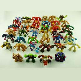 20pcs / brinquedos monte 4,5 centímetros mini-Gormiti PVC Ação Figurees dos desenhos animados Anime mini-bonecas para presente crianças de