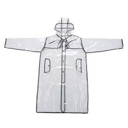 Poncho raincoat moto on-line-Matte Transparente Capa De Chuva para Mulheres e Homens Unisex motocicleta poncho Impermeável Camping Caminhadas Marca capa de chuva poncho # 319482