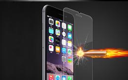 autocollant de peau galaxie Promotion Protecteur d'écran en verre Premium Premium Qulaity Bull Shock Iphone XR XS MAX 8 PLUS X 8 2.5D 0.33mm
