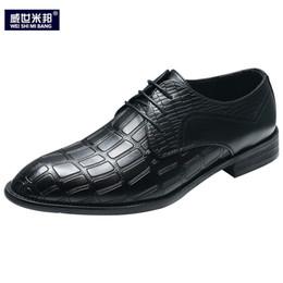 новый стиль офис повседневная обувь Скидка New Winter Men's Casual Shoes Lace Up Formal Dress Business Man Office Shoes British Style Wedding Man