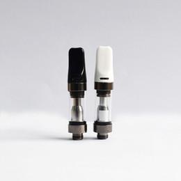 penna a olio bianca nera Sconti Imini 2 Original Oil Cartridge 0.5ml Dab Pen Wax Vaporizzatore 510 Ceramic Cartridges Empty Vape Pen Cartucce Black White Bocchino Ecig