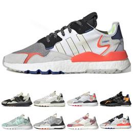 adidas nite jogger Classique nite jogger 3 m réfléchissant hommes chaussures de course pour femmes triple noir blanc vert plein air mens formateurs