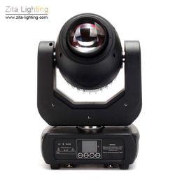 2019 movimiento agudo Zita Lighting Stage Lights LED 150W Cabeza móvil Luz Sharpy Beam Spot DMX 512 Fiesta de bodas DJ Efecto Disco Led Light movimiento agudo baratos