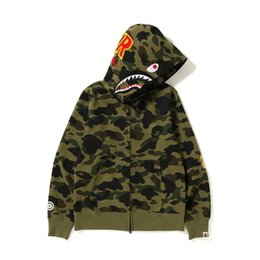 3xl camo jacke online-Fashion Street Camo Jacke Mens Winter-Zipper Hoodies Zip Frauen Sweatshirts mit Kapuze Jacken Pullover Luxus Jacken Hiphop Qualität B103569L