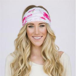 Boho Style Femmes Mode Dentelle Bandeaux Beauitful Floral Imprimé Headwrap Sport Yogo Bandes De Cheveux Large Élastique 15 Couleur Top Qualité H106 ? partir de fabricateur