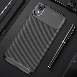 power cell case Coupons - Carbon Fiber TPU Cell Phone Cases For Moto E6 P40 G7 Power Redmi Note 7 Pro Huawei Y7 2019 Slim Shockproof Mobile Case
