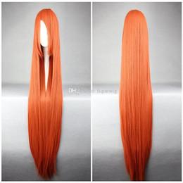 Eau de Javel Inoue Orihime Longue Jacinth Straight Pretty perruque Cosplay résistant à la chaleur femmes ? partir de fabricateur