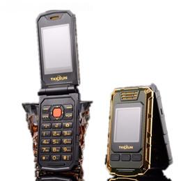 2019 teléfono qwerty de pantalla táctil Original TKEXUN G5 Mujeres Flip Teléfono móvil Cámara de doble pantalla doble Tarjeta Bluetooth Dual Sim Pantalla táctil de 2.4 pulgadas Teléfono celular de lujo rebajas teléfono qwerty de pantalla táctil