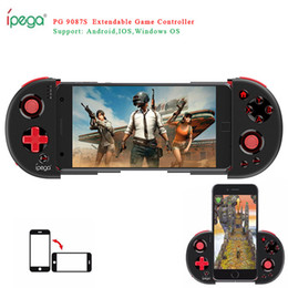 2019 jogos para celular pc Console Game Pad Bluetooth Gamepad Controlador Pugb Joystick de gatilho móvel para iPhone Android telefone celular PC Handle jogos para celular pc barato