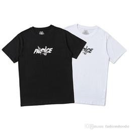 Stampa di palazzo online-PALACES Tshirt Stampa lettera Cupid T Shirt Marchio internazionale tide manica corta 19SS estate vendita calda T-shirt moda uomo tee shirts