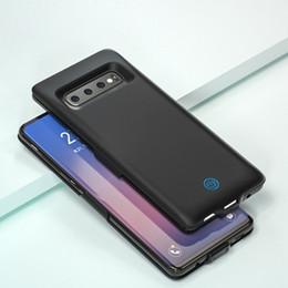 супер цифровой мобильный Скидка 7000 мАч аккумулятор зарядное устройство чехол для Samsung Galaxy S10 S10E S10 плюс задняя клипса аккумулятор тонкий портативный зарядное устройство внешний зарядный чехол
