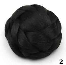 2019 großhandel synthetischen haar brötchen zubehör 146 Rosa Mesh Haarnadel Kinder Seite Clip Haarschmuck Hersteller Großhandel