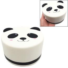 Wholesale Nueva Kawaii Squishy Panda Blanco Juguetes de descompresión perfumados y suaves Slow Rising Big Squishies Food DHL libre al por mayor