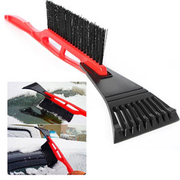 1b861736994 Hot sal 2 IN 1 shovel Car Vehicle Durable Snow Ice Scraper Snow Brush  Shovel Removal For Winter
