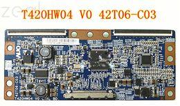 2019 placa auo Para AUO T420HW04 V0 42T06-C03 Placa Lógica Para a tela TCL L42F19FBE Changhong LT42720 placa auo barato