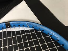 Cordes de raquettes en Ligne-Raquette de tennis Pure Drive de qualité supérieure avec corde et sac 1 pièce raquette livraison gratuite