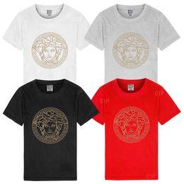 12-jährige kinderkleidung online-2019 sommer 0-12 Jahre Alt Säuglingsbekleidung Jungen Mädchen T-shirts Kurzarm Shirts Marke Baumwolle Kinder Kinder Tees Tops Neugeborenen T-shirt