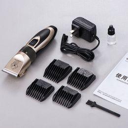 Chiens rasoir électrique en Ligne-Pet Supplies Grooming Shaver Type de charge Haute Puissance Pet Chien Cisailles électriques Conservation de l'énergie Haute Performance Vente Chaude 39 8ceI1