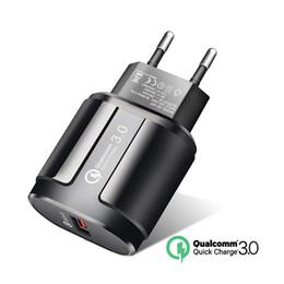 cargador de muelle de cuna para reloj de engranajes Rebajas Cargador de teléfono, carga rápida QC 3.0 EE. UU., Teléfono móvil universal de la UE qc3.0 rápido para Samsung Xiaomi
