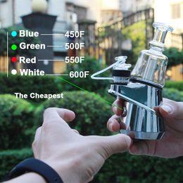 2019 kanger mod nano Mini Kits SOC Pico Enail inteligente Potente aceite de calefacción portátil Rig Dab Cera Concentrado Kits Budder Shatter seco de hierbas vaporizador SOC01