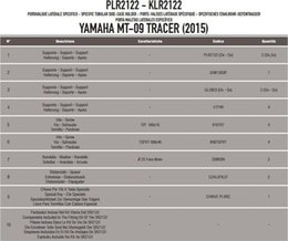 Deutschland GIVI Plr2122 Yamaha MT-09 Tracer (15-16) Seitenbeutelträger Schiff aus der Türkei HB-002606299 Gegeben Versorgung