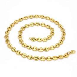 2019 tendência de colar de corrente Homens de luxo Designer de Colares de Hip Hop Grãos De Café Colar de Moda de Ouro Cadeia De Prata Colar de Jóias Frete Grátis