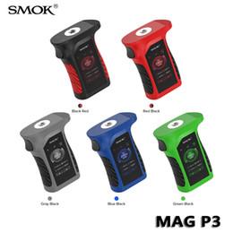 SMOK Mag P3 Mod 230 W IP67 À Prova D 'Água Caixa de Cigarro Eletrônico Mod Alimentado por Bateria 18650 Atualizada da Mag Direita 100% Autêntico de