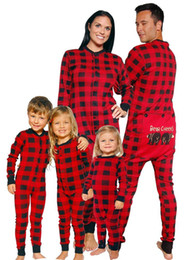 2019 macacão de urso bebê Família do bebê Crianças Adulto Natal Urso Cheeks Imprimir Jumpsuit Moda Casual Outfit presentes Romper Macacão Matching macacão de urso bebê barato