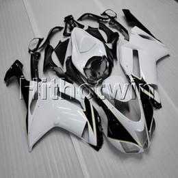 2019 kit corpo branco kawasaki zx6r 23 cores + presentes preto branco ZX6R 2007 2008 carroçaria da motocicleta Carenagem Kit Corpo Para Kawasaki zx-6r ZX636 07 08 desconto kit corpo branco kawasaki zx6r