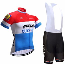 Tour de France Quick Step Uomo Cycling Jersey MTB Gel Pad Short Outdoor Pro Team equitazione Bib Shorts Abbigliamento bici bicicletta Ropa ciclismo da