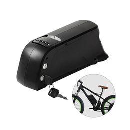 Электрические батареи онлайн-36 в 13ah 650Вт перезаряжаемая литиевая батарея для электрический велосипед Дельфин в нижнюю трубу батареи Ebike аккумулятор с USB порт отправить зарядное устройство
