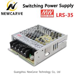 2019 denso conectores LRS-35 Original Taiwan Meanwell 35W Fonte de alimentação MW 5V 12V 15V 24V 36V 48V NEWCARVE