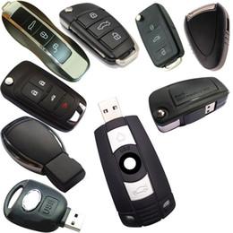 großhandel lvds kabel Rabatt USB 2.0 Autoschlüssel USB-Flash-Laufwerk Pendrive 16/32 / 64GB / 8gb Memory Stick Pen Drive U-Diskette für Beliebte Geschenk Reale Kapazität Heiß