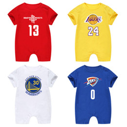 infant baby overall Promo Codes - Baby Boys Summer Rompers Newborn Baby Cotton Jumpsuits For Infant Boys Newborn Baby Casual Overall Clothes Toddler Clothing