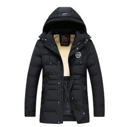 giacche invernali cotone imbottito giovani uomini giacche di cotone imbottito giù giovani uomini
