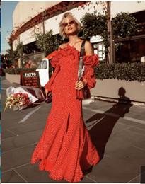 2019 luxe Halter plume sirène robes de soirée paillettes scission dentelle top robes de bal longues formelles soirée formelle robes de célébrité ? partir de fabricateur