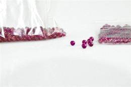 Novo 6mm Jade Diamante Ruby Terp Bola Pérola Inserir Vermelho Roxo Luz de armazenamento de Pérolas Bola de Rubi Inserção para Banger De Quartzo PregoFree entrega de
