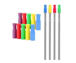Stock Silikon-Spitzen für 6 mm Edelstahlstrohhalme zur Verhinderung von Zahnkollisionen Strohhalme für Silikonschläuche Epacket Free von Fabrikanten