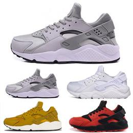 Nike air huarache 1 2019 Clásico Huarache 1 4 zapatos para correr para hombre para mujer Corre Triple Blanco Negro Rojo Oro Huaraches Hombres Casual Deportes zapatillas de deporte desde fabricantes