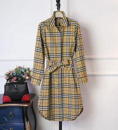2019 новый дизайн женская мода Англия стиль зима пальто дизайнер небольшой проверить slim fit траншеи для женщин размер S-XXL от Поставщики кроссовки с блестками