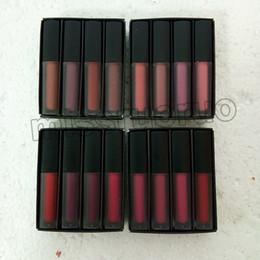 nackter lippenstift geben verschiffen frei Rabatt Wählen mini Flüssigkeit matte Lippenstift von Hand rot / pink / braun / akt Lippenstift 4 Farben freies Verschiffen