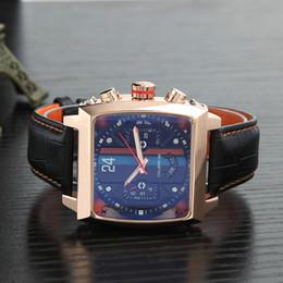 2019 relojes multifuncionales para hombres Reloj mecánico de alta calidad TAG multifunción deportivo de ocio para hombre. rebajas relojes multifuncionales para hombres