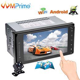 """Autoradio Navigation GPS AMprime 7 """"HD 2 Din MP5 / Lecteur DVD WIFI autoradio Autoradio Audio Full Touch Bluetooth Multimédia pour Toyota ? partir de fabricateur"""