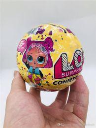 Brinquedos baratos da menina on-line-Presente de natal Confetti Pop-Series3 Aleatória Boneca 10 cm Brinquedos para Crianças Action Figure Brinquedos Presente Para Meninos Meninas Atacado Barato
