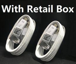 осветительные шнуры для сотовых телефонов Скидка 1 м 3Ft Micro V8 USB-кабель для зарядки данных шнур зарядного устройства проводной линии с розничной коробкой для телефона Samsung S4 S7 S8 S10 Type C Huawei P 9 Xiaomi 8